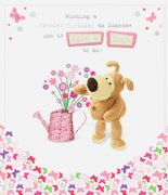 Boofle Like A Mum to Me Birthday Card